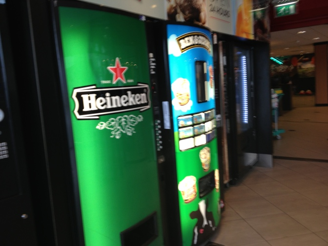 Beer vending machines?